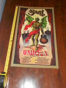 Ghost BC Unplugged Tour poster Meliora Unholy PROMO Glossy paper