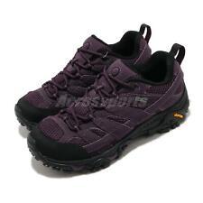 Merrell Moab 2 GTX Gore-Tex Black Purple Women Outdoors Hiking Trail J034828