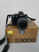 Fotocamera reflex Nikon D3000 obiettivo 18-55 usata