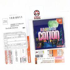 Rainbow Cotton Spin.Card Reg.Card Sega Dreamcast System  Japan