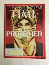 Time Magazine, December 26, 2011- Jan.2, 2012, Person Of The Year, The Protester
