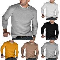 Mode Wollpullover Herren Herbst Winter Strickpullover Strickpullover Sweatshirt
