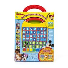My First Smart Pad Disney Junior 3+ Toy School Book Mickey Mouse Doc Mcstuffins