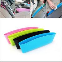Car Seat Gap Catcher Box Caddy Pocket Key Phone Storage Organizer Holder