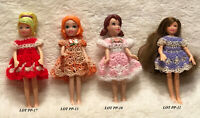"Clothes for 3 1/2"" Polly Pocket Doll Handmade Dress Lot 4-D Choose 1 OOAK"