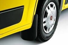 Genuine Fiat Ducato Front Mudflaps Set Mud Shield Guards NEW - 50901517
