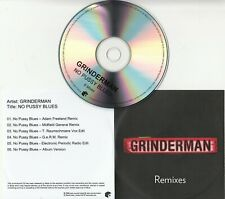 New listing GRINDERMAN No Pussy Blues: Remixes 2008 UK 6-trk promo only test CD Nick Cave