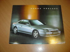DEPLIANT Honda Prelude de 1996