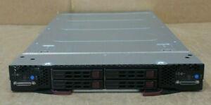 Supermicro SuperBlade 2-Node SBI-7228R-T2X 4x E5-2620v3 256GB Ram 4x HDD Bay