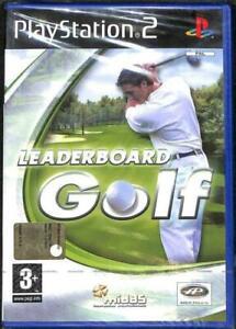 Leaderboard Golf ps2 playstation 2 nuovo gioco game sigillato