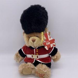 Hamleys 250th Birthday Grenadier Guard Teddy Bear Soft Toy Plush with Tags