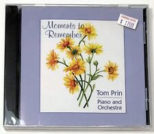 NEW SEALED Moments to Remember Tom Prin CD Piano & Orchestra (Even Par, EP-1008)