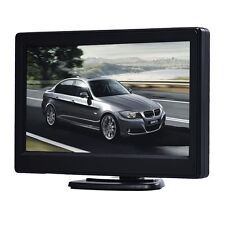 "5"" LED High Resolution HD 800X480 Car TFT LCD Monitor Screen 2ch Video Schwarz"
