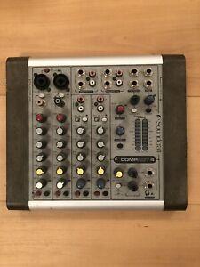 Soundcraft Compact 4, Audio-Mixer, Mischpult, Anlage, Mixen