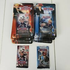 13 - Bleach TCG Trading Card Game First Edition & Soul Society Booster Packs Lot