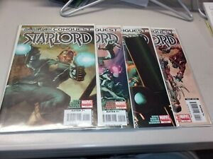 Annihilation Conquest Starlord #1-4 Full Set 2007 Guardians of the Galaxy Marvel