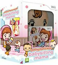 Cooking Mama World Babysitting Mama | Wii | PAL Fr | Coffret avec Peluche | NEUF