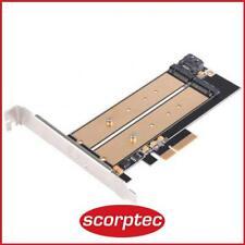 Silverstone Ecm22 Storage Controller M.2 Card PCIe X4 SATA 6gb/s Sst-ecm22