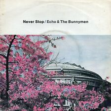 "Echo And The Bunnymen - Never Stop  (7"" Single 1983)"