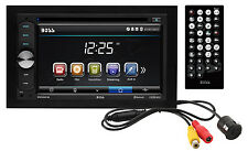 "BOSS BVB9351RC DOUBLE 2 DIN CAR BLUETOOTH DVD/CD USB PLAYER 6.2"" BACKUP CAMERA"