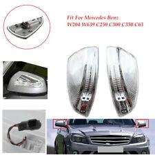 Plastic LED Side Mirror Turn Signal Light FitFor Mercedes Benz W204W639 C250-C63