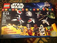 New in box Lego Star Wars Advent Calendar, 7958.  Complete, figures unopened