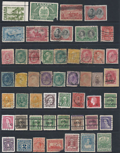 CANADA & NEWFOUNDLAND Collection including $44.00 in MNH Booklets on 12 scans.