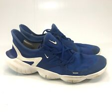 Nike Men's Free Blue Athletic Shoes Size 10.5