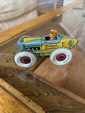 Marx Tin Litho toy WIND UP toy  Marx MIDGET RACER #2 Ultra Rare Midget Special