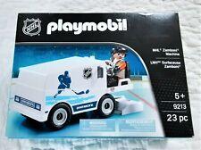 Playmobil 9213 NHL Zamboni Machine Ice Hockey 23 Pc NEW Sealed w/ Damaged Box
