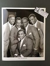 Original 1950s-60s 8 x 10 Publicity Photo Vocal Group Doo Wop R&R The Spinners