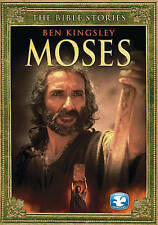 The Bible Stories: Moses DVD R1 FF CC Ben Kingsley Shout! Factory NIP NEW