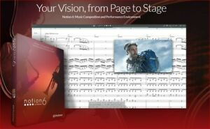 Notion 6: Make beautiful sheet music with high quality audio!