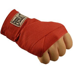 "Everlast 120"" Boxing Handwraps - Red"
