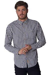 Men`s Slazenger Check Long Sleeve Shirt Top