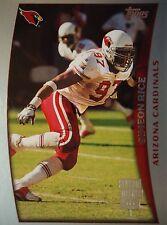 NFL 62 Simeon Rice Arizona Cardinals Topps Season Opener 1998