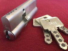 New ListingHigh Security Ikon M (Evva Mcs) 2Sided Euro Lock w/ Keys Locksport Black Belt!