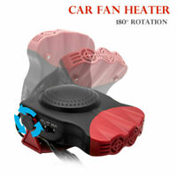 2 In1 Car Portable Ceramic Heating Cooling Heater Fan Defroster Demister 12V AU