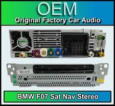 BMW 5 Series GT SAT NAV reproductor de CD, BMW F07 navegación por satélite, radio DAB
