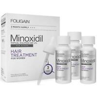 FOLIGAIN® MINOXIDIL 2% HAIR REGROWTH TREATMENT FOR WOMEN