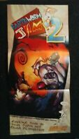 Earthworm Jim SNES Super Nintendo Power Poster 1995 Retro Rare 10,5x22''
