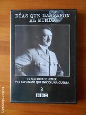 DVD DIAS QUE MARCARON AL MUNDO 3 - EL SUICIDIO DE HITLER Y EL ASESINATO QUE INIC