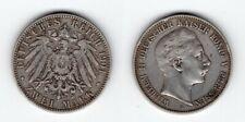 PREUSSEN   2 Mark 1901 A   Wilhelm II.   seltenes Jahr !