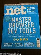 .NET MAGAZINE #246 - MASTER BROWSER DEV TOOLS - OCT 2013