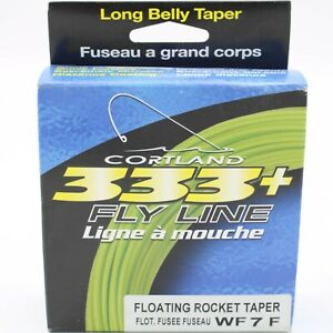 Cortland 333+ Fly Line Floating Rocket Taper 2 Choices Available