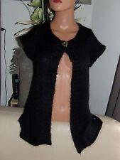 superbe pull / gilet noir kid mohair DES PETITS HAUTS taille 1 soit 38 comme 9