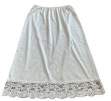 "Vassarette Half Slip Lace Ivory , Size M , 28"""