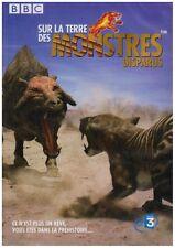 28251/SUR LA TERRE DES MONSTRES DISPARUS 2 DVD NEUF SOUS BLISTER DUREE 4H44