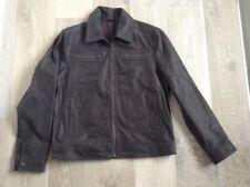 Unbranded Leather Regular Size Coats & Jackets for Men