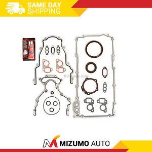 Lower Gasket Set Fit 97-15 GMC Ford Isuzu Saab 4.8L 5.3L 5.7L 6.0L 6.2L OHV LS3